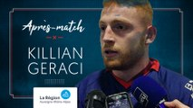 Killian Geraci : « Avancer pour gagner les prochains matchs »