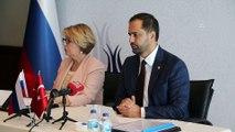 Türk-Rus Toplumsal Forumu Türk Kanadı Eş Başkanı Ahmet Berat Çonkar - ANTALYA