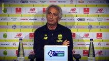 Vahid Halilhodzic avant FC Nantes - EA Guingamp