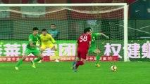 Ambient: Pato and Bakambu go close as Tianjin Quanjian draw 0-0 against Beijing Guoan in CSL