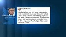Disgelo commerciale Usa-Cina prima del G20 in  Argentina