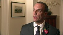 Dominic Raab pays visit to Northern Ireland