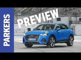 NEW Audi Q3 2019 unveiled | Baby Audi SUV borrows tech from the A8