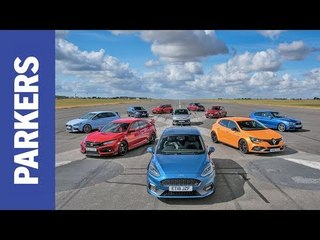 Cheap Fast Car of the Year Award | FEAT. Fiesta ST, Megane RS, Golf GTI and Civic Type R