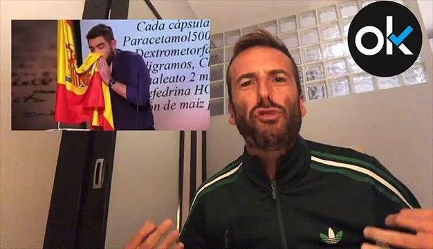 """Álvaro Ojeda: """"Dani Mateo, respeta la bandera de España, tu país"""""""
