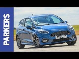 MEGA TEST: Ford Fiesta ST vs VW Up GTI vs Suzuki Swift Sport | Parkers Cheap Fast Cars