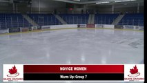 2019 Skate Ontario Sectional Championships - Novice Women Free 31 - 48 & Novice Men Free