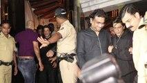 Shahrukh Khan's birthday celebration: Mumbai Police reaches at party; Watch Video | FilmiBeat