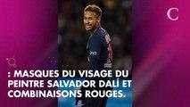 Neymar et Kylian Mbappé débarquent au Parc des princes déguisés en braqueurs... alors que le PSG est au cœur des Football Leaks