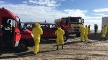 Pollution aux hydrocarbures : les opérations de nettoyage ont commencé sur la plage de Piémanson