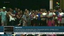 teleSUR noticias. México: caravana de migrantes llega a Veracruz
