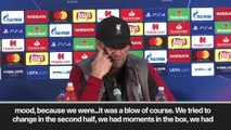 Eng Sub: Second goal 'not cool' says Klopp after Liverpool defeat to Red Star