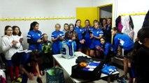 Chant de la victoire de l'AFB lors de la réception du FC Rambouillet Yvelines