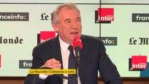 """François Bayrou : """"Lorsque vous vous trouvez en présence d'immenses puissances, votre indépendance ne signifie rien"""""""