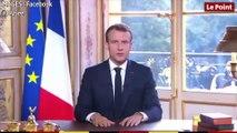 """""""Non"""" de la Nouvelle-Calédonie au référendum : l'allocution d'Emmanuel Macron"""