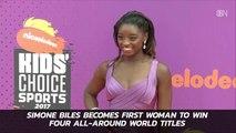 Wow: Simone Has 4 All-Around Titles Now