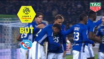 But Lebo MOTHIBA (51ème) / RC Strasbourg Alsace - Toulouse FC - (1-1) - (RCSA-TFC) / 2018-19