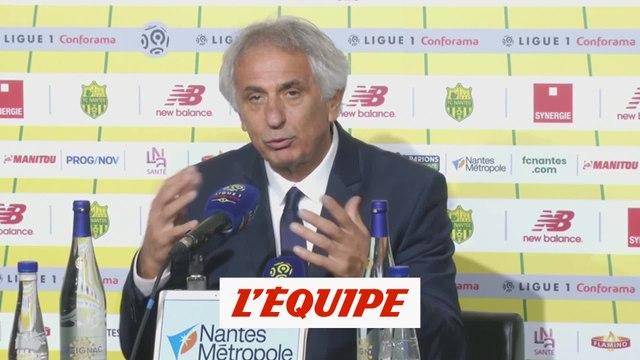 Halilhodzic «Je ne m'attendais pas à tout ça» - Foot - L1 - Nantes