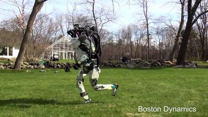 Robot coureur de chez Boston Dynamics