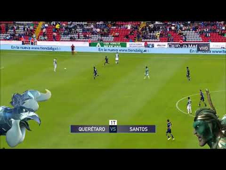 Arranca el partido entre Querétaro y Santos en la Liga MX | Liga MX