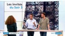 """Benoît Solès invité dans Soir 3 pour la pièce de théâtre """"La machine de Turing"""""""