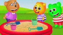 Gummy Bear Plays with water passing game Finger Family Collection  Nursery Rhymes  Kids Songs, Tv series action comedy hd season 2019