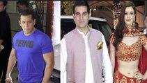 Salman Khan avoid Arbaaz Khan and FG Giorgia at Shilpa Shetty Diwali Party