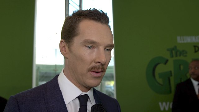 Benedict Cumberbatch Is Feeling Green At 'The Grinch' Premiere