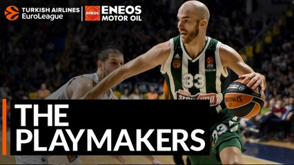 The Playmakers: Nick Calathes, Panathinaikos OPAP Athens