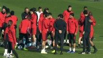 Ligue des Champions – Dernier entraînement pour le PSG avant le départ en Italie