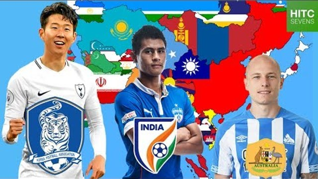 Best Footballer From EVERY Country in Asia