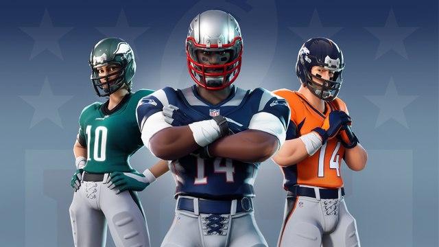 Fortnite Battle Royale - Llegan las skins de la NFL al juego