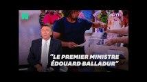 """Sur TF1, Jacques Legros évoque le premier ministre, """"Édouard Balladur"""""""