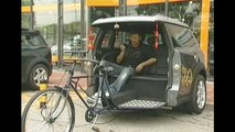 Half Mini Half Rickshaw