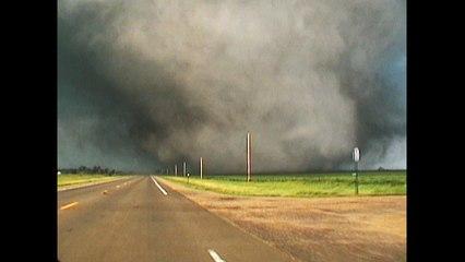 Too Close To A Tornado
