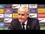 Manchester City 6-1 Southampton - Mark Hughes Full Post Match Press Conference - Premier League