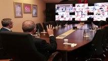 Cumhurbaşkanı Erdoğan, İstanbul AK Parti İlçe Başkanları ile Telekonferans Yoluyla Görüştü