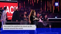 Janet Jackson Delivers #MeToo Speech at MTV EMAs