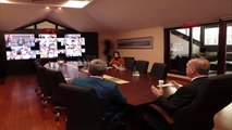 Cumhurbaşkanı Erdoğan İlçe Başkanlarıyla Telekonferans Yoluyla Görüştü