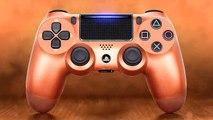 Nouvelle Manette PS4 : Copper DUALSHOCK 4 Bande Annonce
