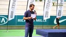 Nadal dice adiós a la Copa Masters por lesión