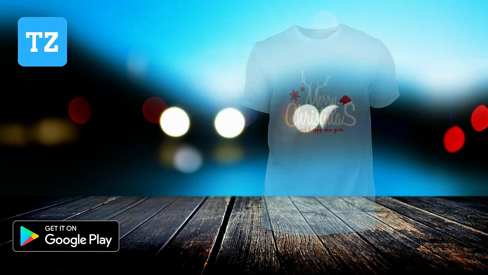 Merry Christmas Happy New Year  - Teezilla tshirt store google play Gift