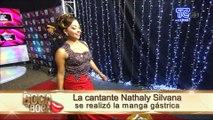 La cantante Nathaly Silvana se realizó la manga gástrica