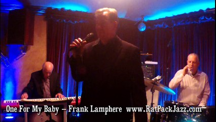 """Las Vegas singer Frank Lamphere and trio """"One For My Baby"""" 2018"""
