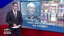 PNP, hindi maglalabas ng firecrackers permit