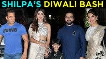 Salman Khan, Jacqueline, Karan Johar & Other Stars At Shilpa Shetty Diwali Party 2018 | UNCUT