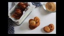 Cette recette de palmiers en pâte feuilletée est vraiment trop facile