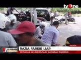 Razia Parkir Liar di Kawasan Thamrin, Ratusan Motor Diangkut