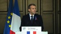 Discours du Président de La République Emmanuel Macron aux Éparges