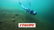 les frères Tourreau plongent dans le lac du Lou à Val Thorens - Adrénaline - Plongée